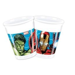 Avangers Plastic Party Cups 200ml 8ct