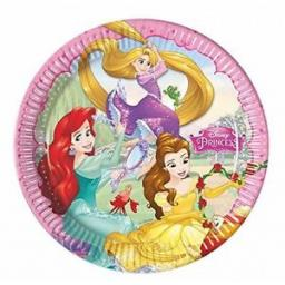 Disney Princesses Paper Party Plates 23cm 8ct
