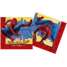 Spider-Man Homecoming paper Luncheon Napkins pack of 20 2 ply
