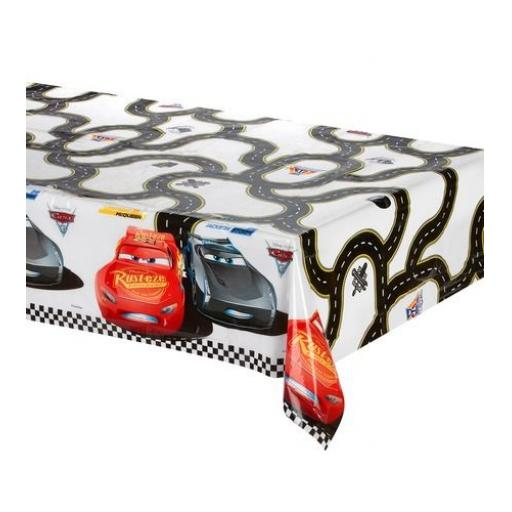 Disney Cars Plastic Party Table Cover 120x180cm