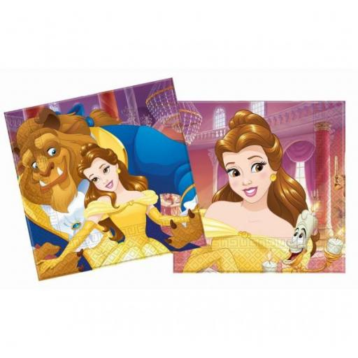 Beauty & The Beast Luncheon Napkins 20pcs 2ply