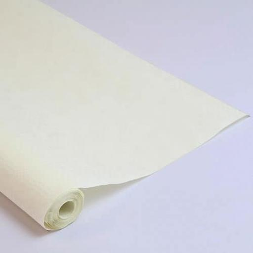Damask Banqueting Roll Vanilla/Ivory 118 x 7m Paper