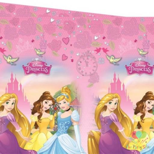Disney Princesses Plastic Table Cover 120 x 180cm