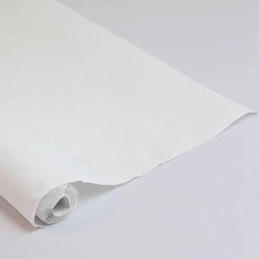 Damask Banqueting Roll White 118 x 10m Paper