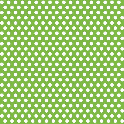 Lime Green Polka Dot Wrapping Paper 152 x 76cm