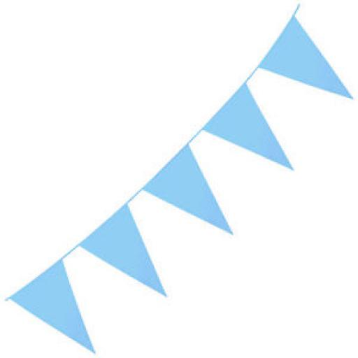 10m Polyethylene Giant Bunting - Light Blue