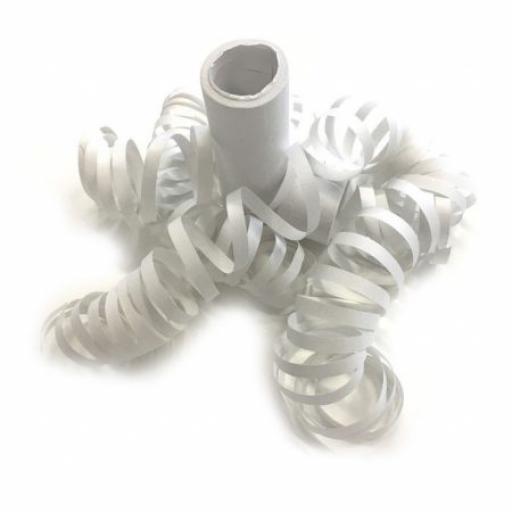 White Serpentines Roll 4M