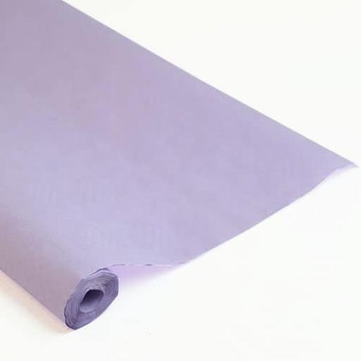 Damask Banqueting Roll Lilac 25m x 118cm Paper