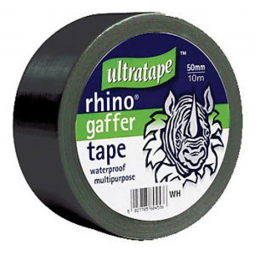 Gaffer Ultra Tape 10m x 50mm Black