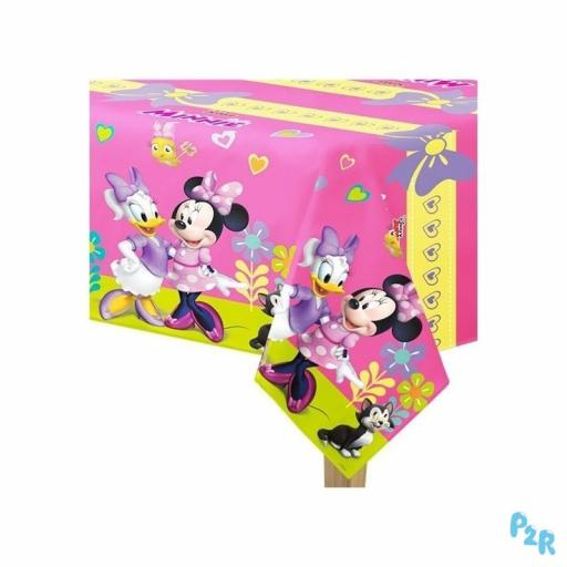 Minnie Mouse Plastic Tablecover 120x180cm