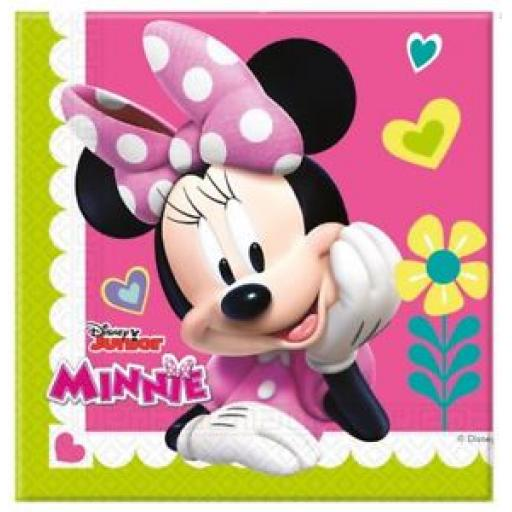 Minnie Mouse Paper Luncheon napkins Pack of 20 2ply