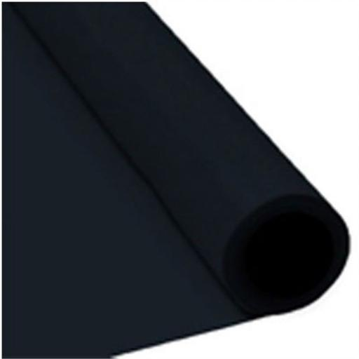 Damask Banqueting Roll Black 25m x 118cm Paper