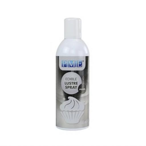 PME Edible Lustre Spray - Pearl 400ml