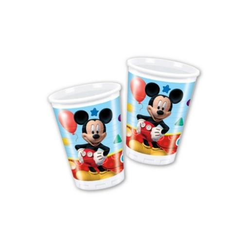 Mickey Mouse Clubhouse Plastic Party Cups 200ml 8ct