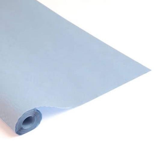 Damask Banqueting Roll Baby Blue 118 x 7m