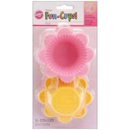 Wilton Silicone Baking Cups Flower 12pcs