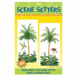 Palm Tree Scene Setters Add-On - 85cm x 1.65m