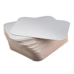 Square Paper Lid 9x9 inch For Foil Container 1pc