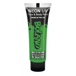Neon UV Face & Body Paint Green 13ml