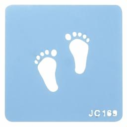 Little Feet Stencil