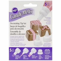 Wilton Candy Melt Decorating Tip Set