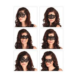 Lace Masquerade Mask 1pc