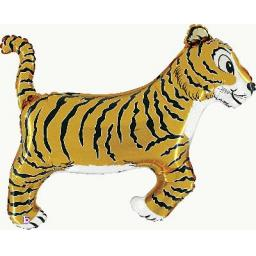 Tiger Shape Foil Helium Balloon 41 inch