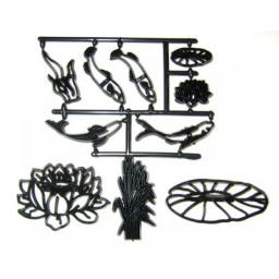 Water Lily & Fish Cutter Set