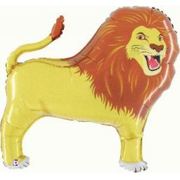 Lion Shape Foil Helium Balloon 41 inch