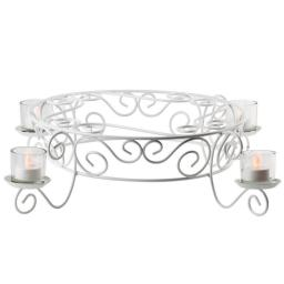 Votive Candlelight Cake Stand