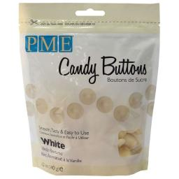 PME White Vanilla Candy Melt Buttons 340 g