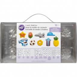 Wilton 10 P Candy Mold Mega Pack