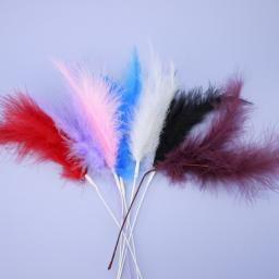 Feather Spray Assorted Colours 12pcs Per Packet One Colour per packet