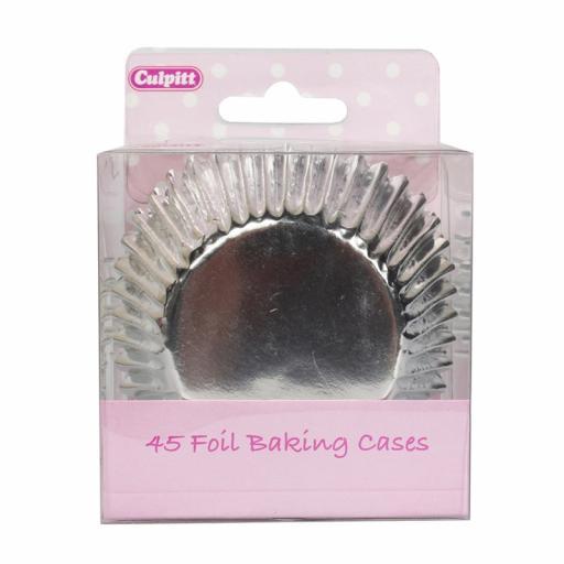 Silver Foil Baking Cases