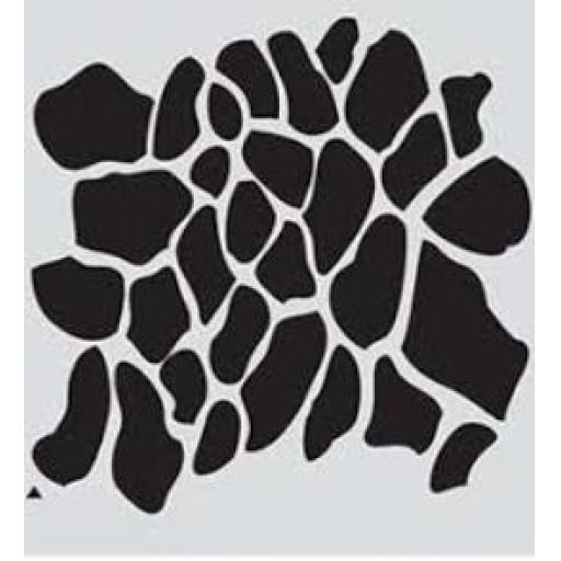 Animal Print Stencil -Girafe