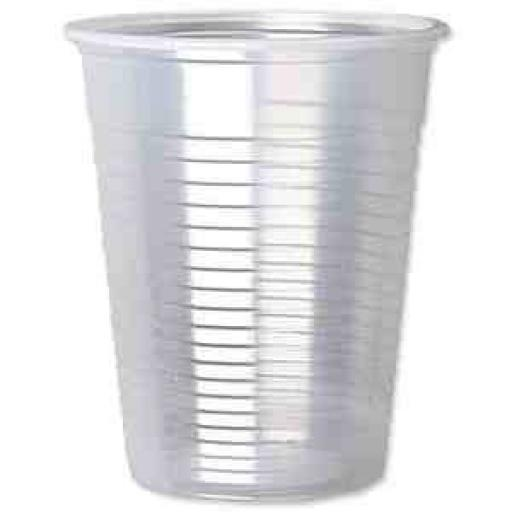 Clear Plastic Disposable Drinking Cups 100ct 200cc