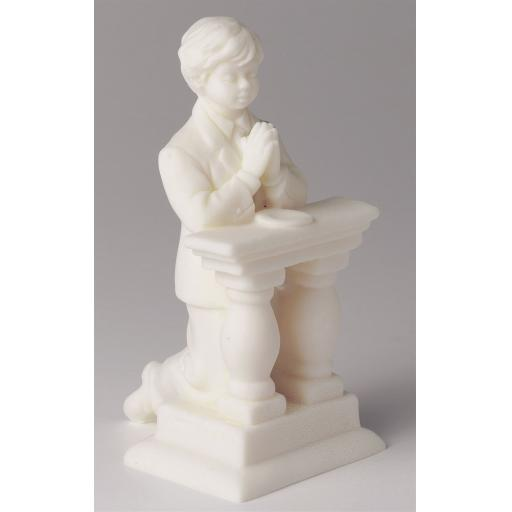 First Holy Communion Boy Figurine Cake Topper