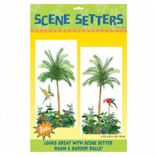 Palm Tree Scene Setters Add-On - 85cm x 1.65m