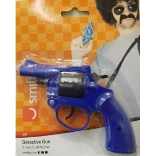 Detective Gun Blue One Size Fits Most