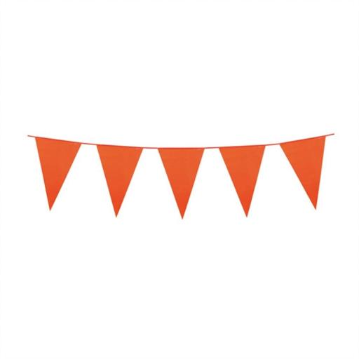 10m Polyethylene Giant Bunting - Orange