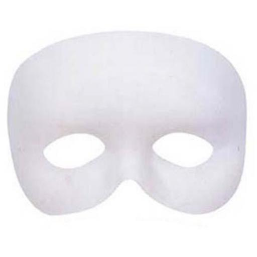 White Phantom Eye Mask