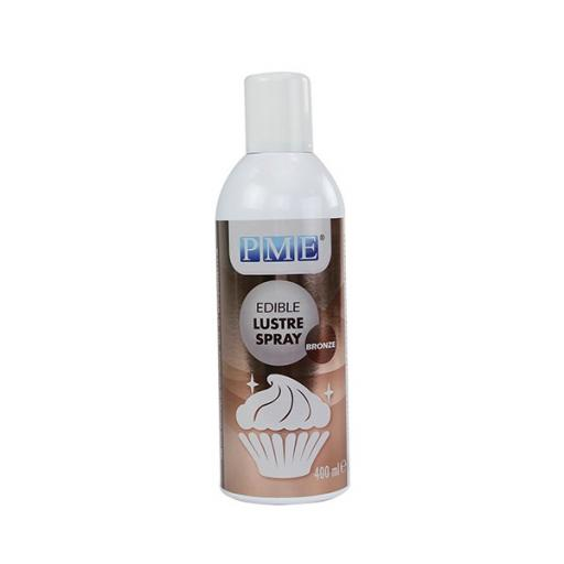 Edible Lustre Spray - Bronze 400ml