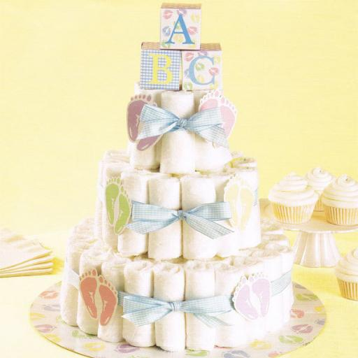 Wilton Diaper Cake Kit