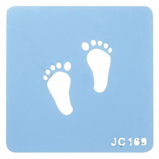 Little Feet Stencil