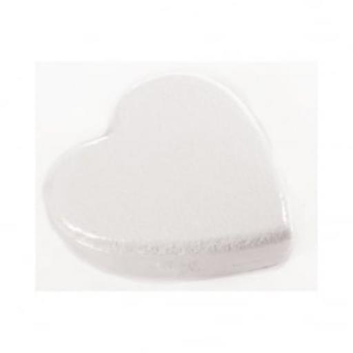 "6x3"" Heart Shape Cake Dummy - Rounded Edge"