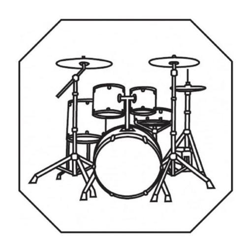 Drumkit Plaque Set Cutter