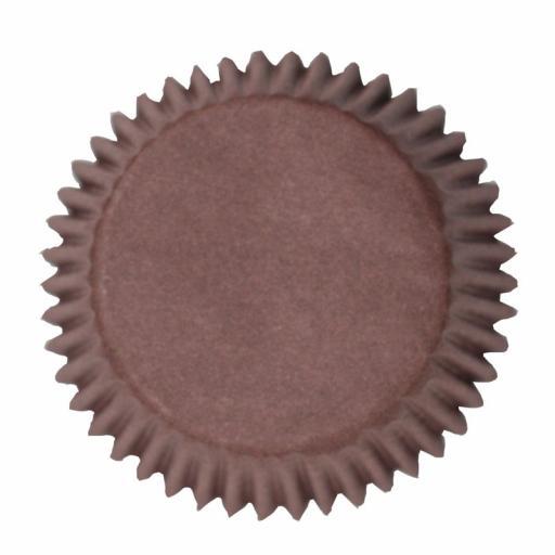 Brown Cupcake Cases 100 pcs