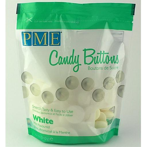 PME White Mint Candy Melt Buttons 340 g