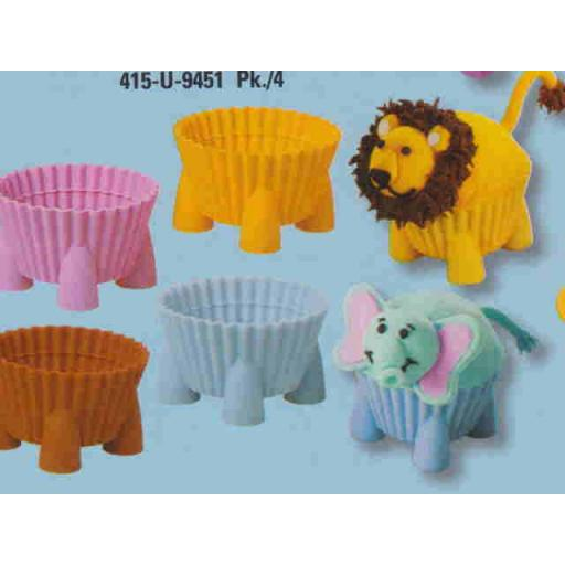 Wilton Silly Critters Baking Cups