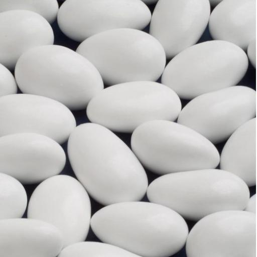 Sugared Whole Almonds White - 250 per pack 1kg